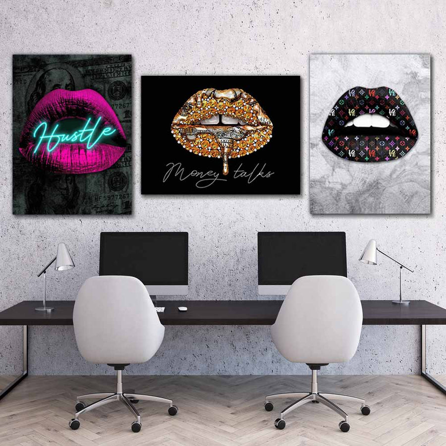 I'm The Boss Inspirational Canvas Art Bundle by Symbolic Designs