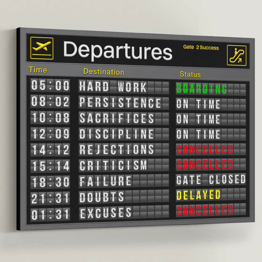 Jetsetter Departures and Arrivals