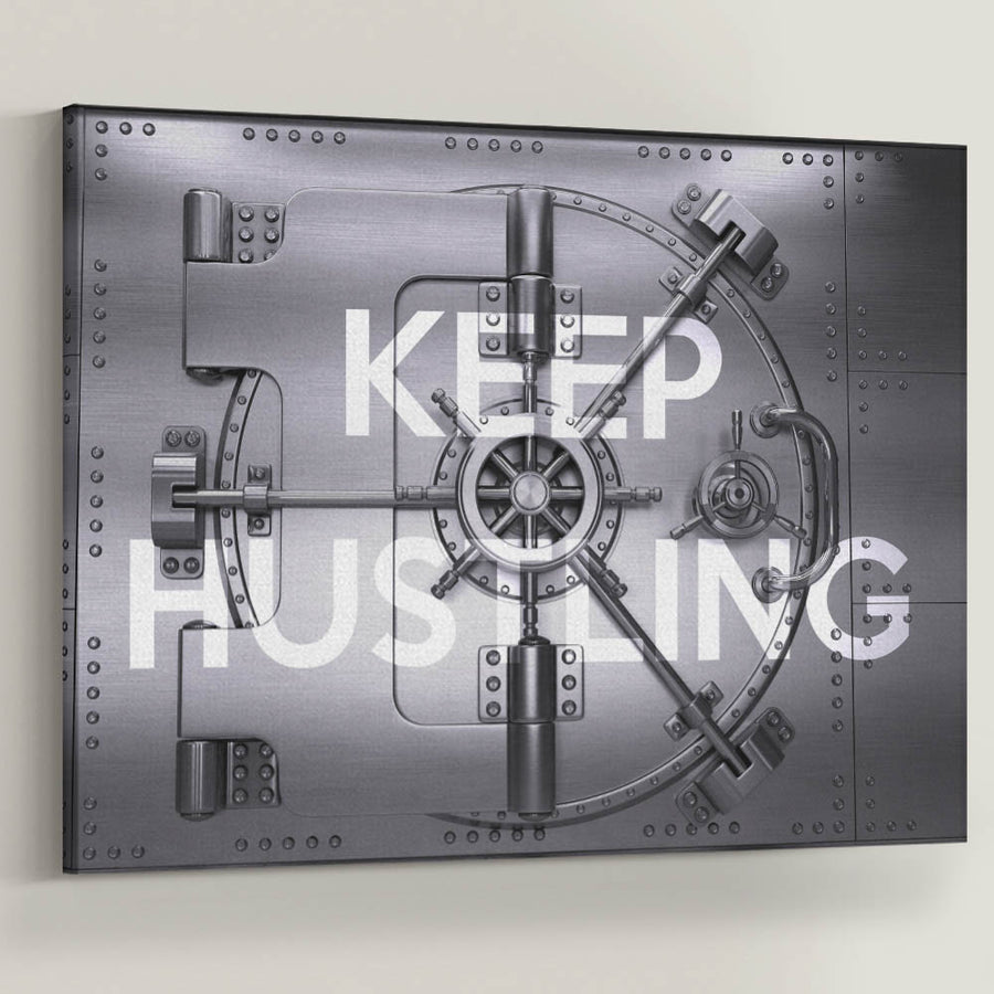 "Keep Hustling Vault Anything is possible if you put in the hard work, go the extra mile, and never quit. Introducing ""Keep Hustling Vault"" now a part of our Cash Money Collection."