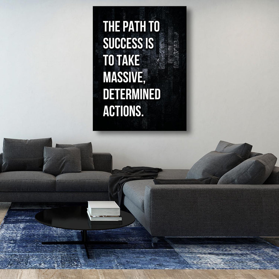 Path To Success Inspirational Canvas Art by Symbolic Designs