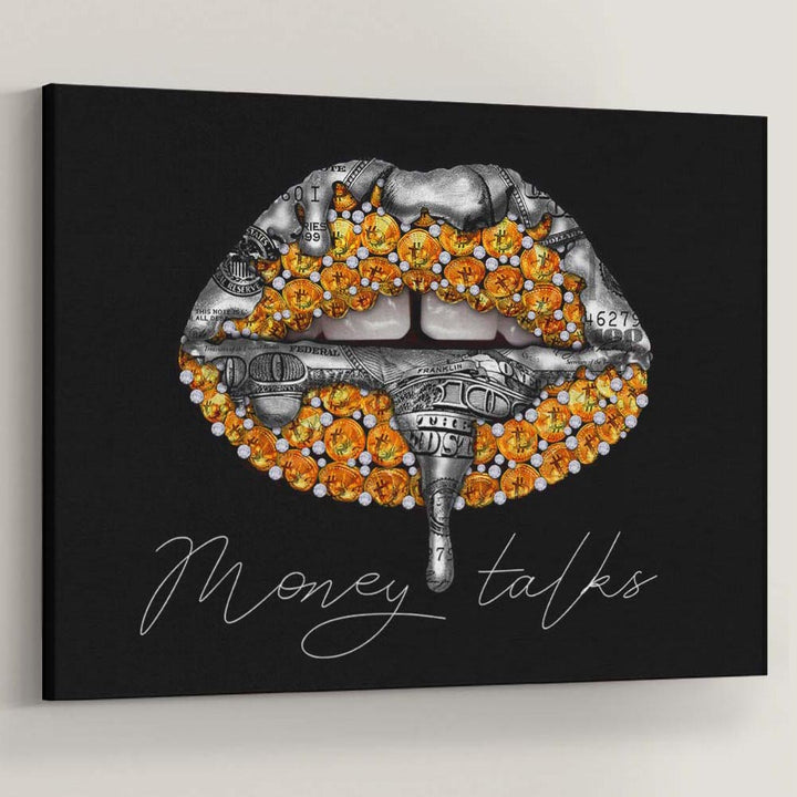 Gold And Silver Money Talks - Symbolic Designs