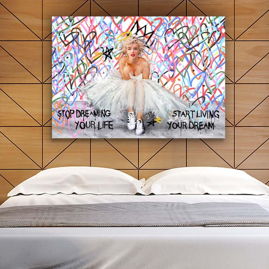 Marilyn Monroe Quotes Inspirational Art