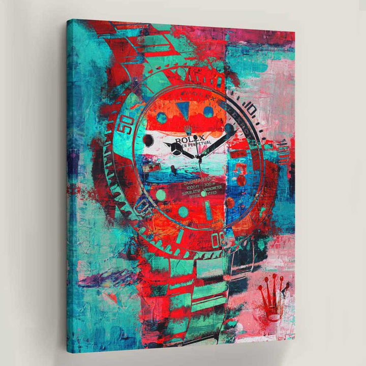 Passion Rolex Canvas Art