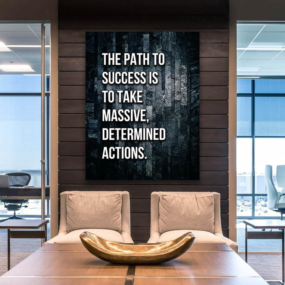 Path to Success-Canvas-Symbolic Designs Inspirational Art for Walls