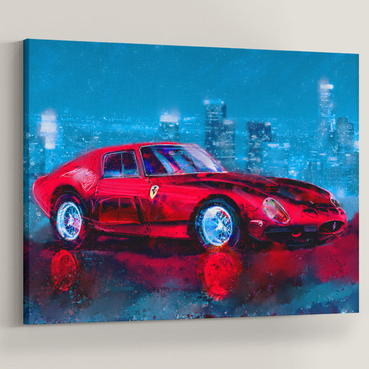Rari Whip Sports Car Art Entrepreneur