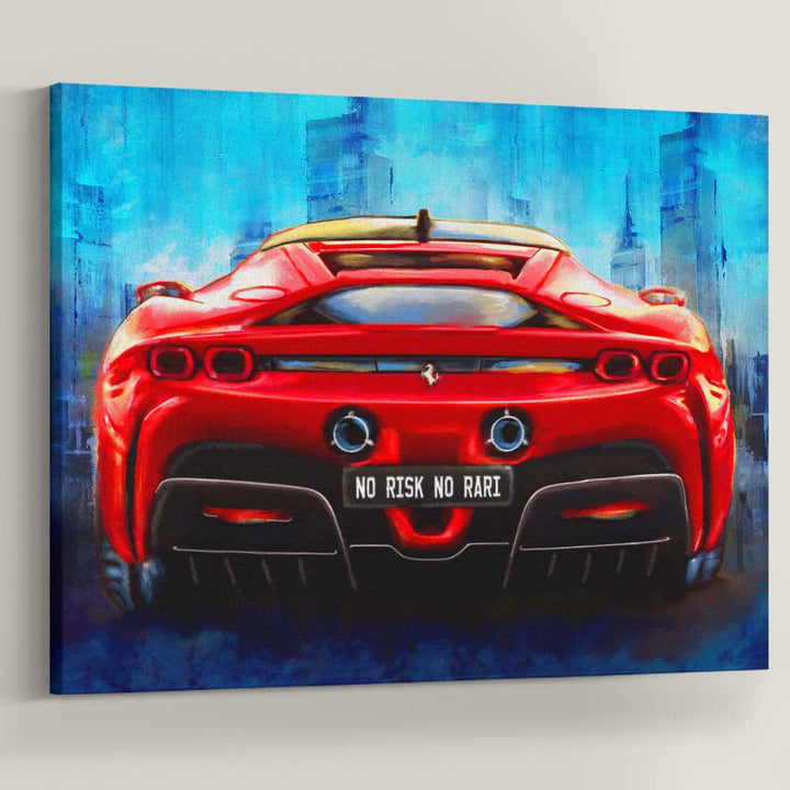 Risk Taker Rari Sports Car Art Entrepreneaur Inspiration