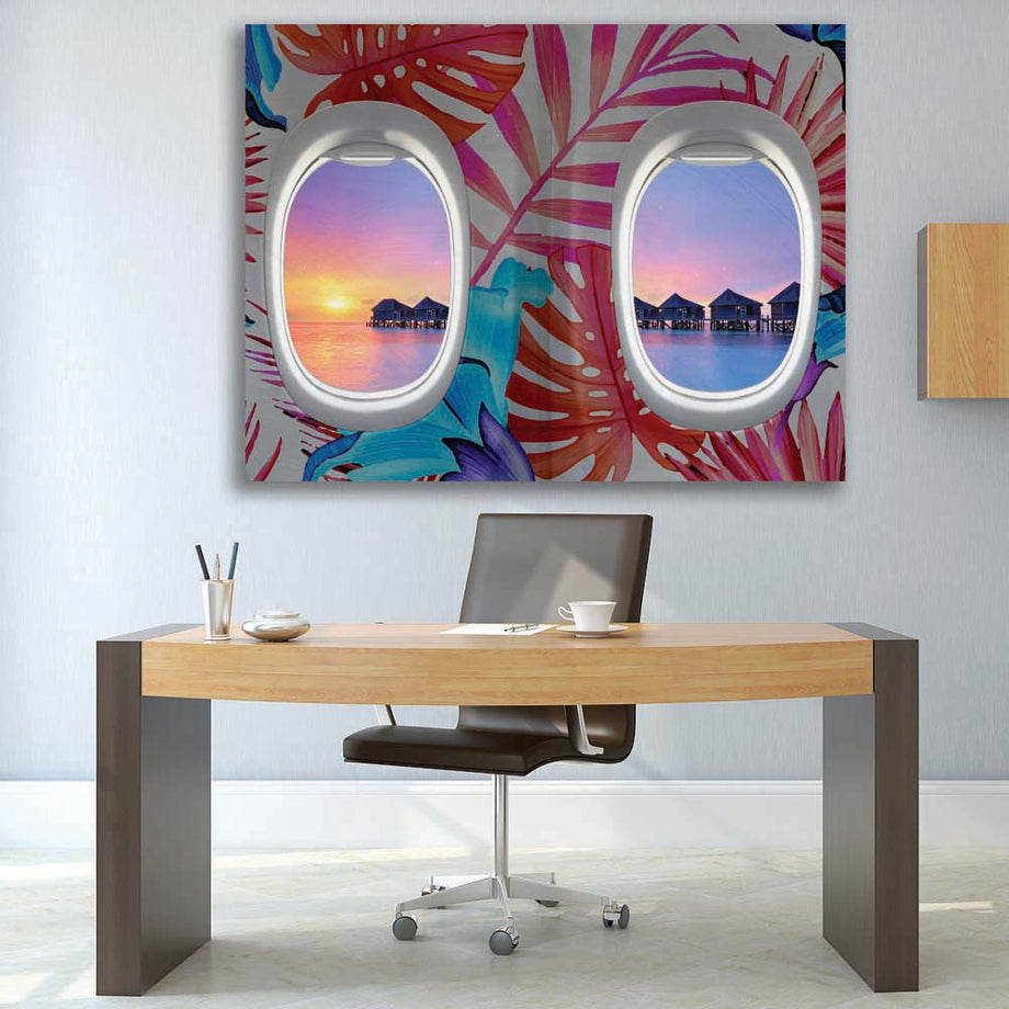 First Class Island View - Symbolic Designs
