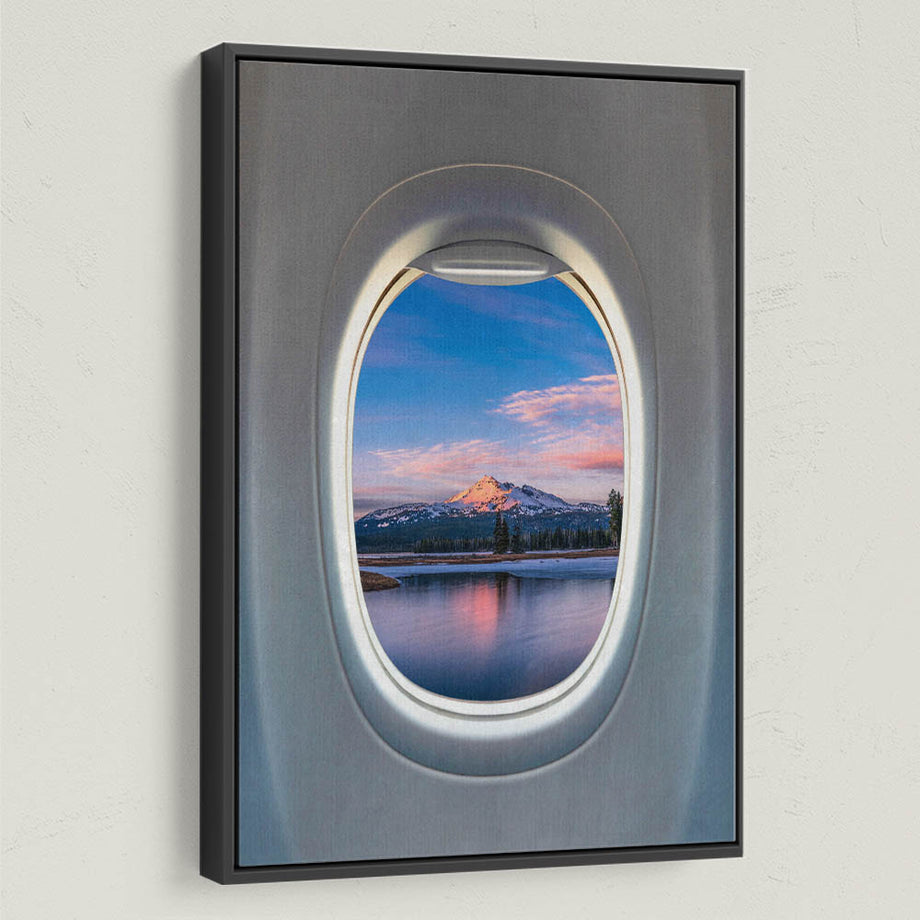 Frequent Flyer View (Mountain) - Symbolic Designs