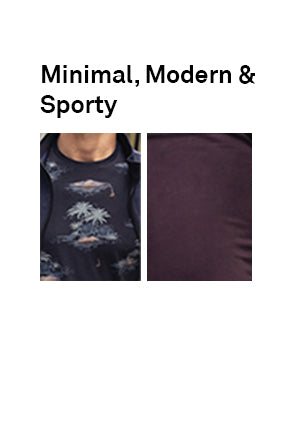 MINIMAL, MODERN AND SPORTY