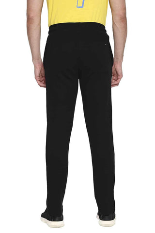CSK ORIGINAL IPL MUSCLE SLIM FIT BLACK TRACK PANT (4674315419729)
