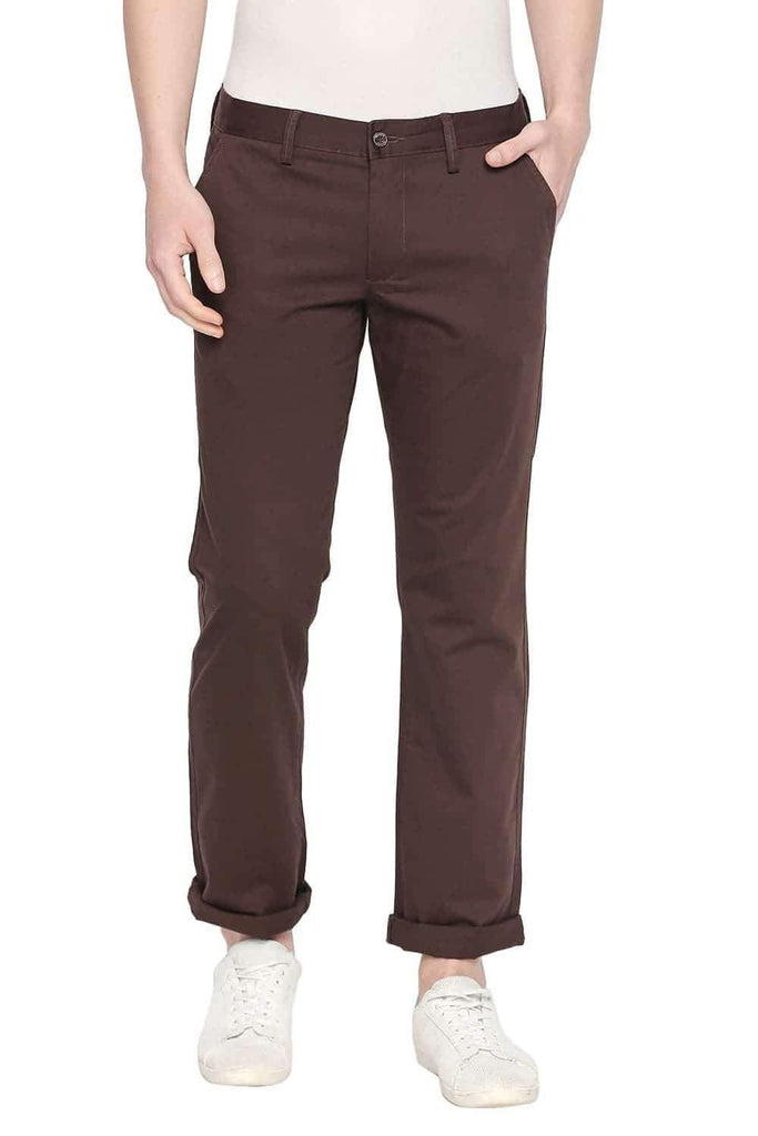 BASICS TAPERED FIT DELICIOSO STRETCH TROUSER-20BTR45432