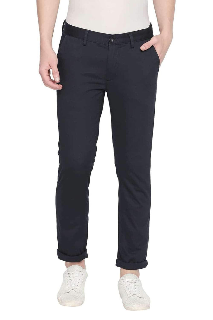 BASICS TAPERED FIT TOTAL ECLIPSE STRETCH TROUSER-20BTR46013