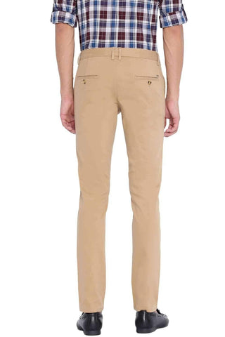 BASICS TAPERED FIT LARK STRETCH TROUSER-20BTR46033