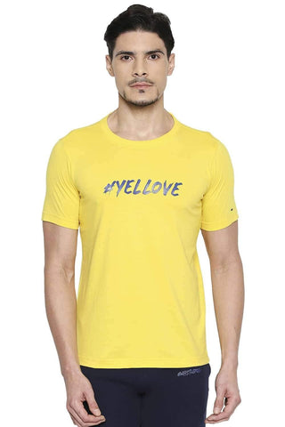 CSK ORIGINAL IPL YELLOVE YELLOW CREW NECK T SHIRT (4674316402769)