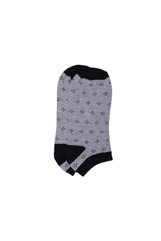 Basics Accessories Glacier Grey Footie Socks Front