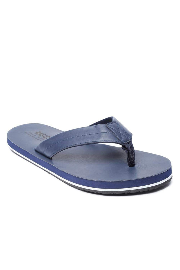 Basics Accessories Insignia Blue Flip Flops Front