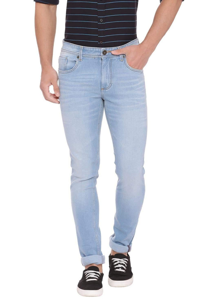BASICS BLADE FIT FADED DENIM STRETCH JEAN-18BJN39826 (4491156586577)