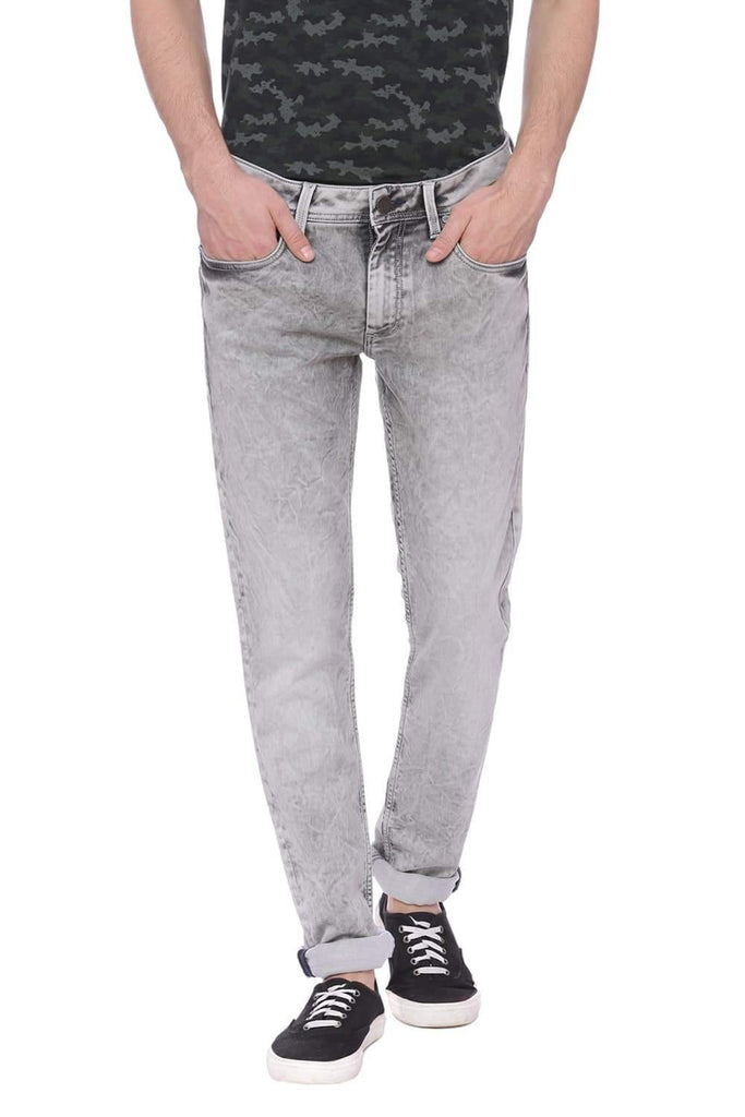 BASICS BLADE FIT FLINT GREY STRETCH JEAN-18BJN38051 (4491025219665)