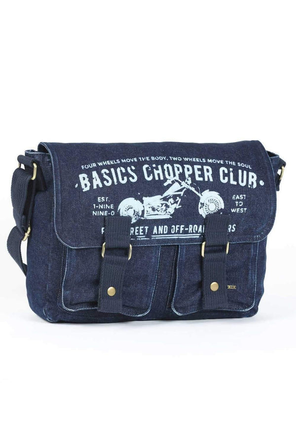 BASICS BLUE DENIM SLING BAG-16BBG34000 (4490918395985)