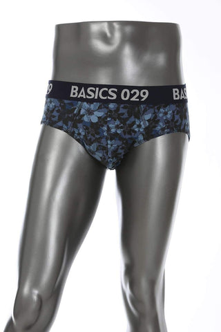 BASICS CASUAL PRINTED MULTICOLOR COTTON ELASTANE FASHION BRIEF BRIEF-14BBF31051 (4490971152465)