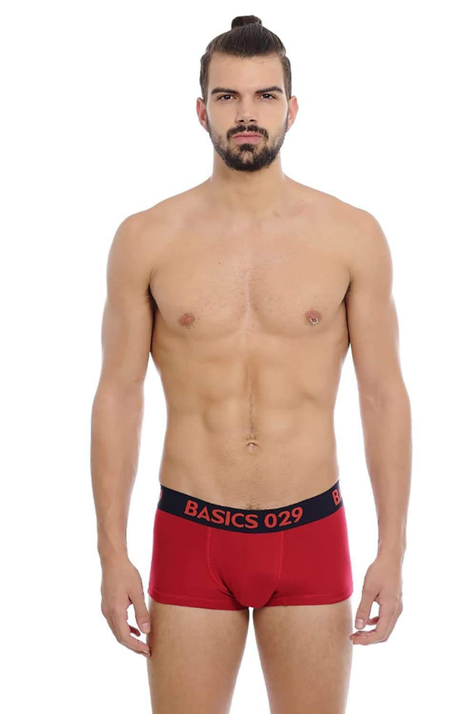 BASICS CASUAL PRINTED MULTICOLOR COTTON ELASTANE TRUNK BRIEF-14BBF31056 (4490972987473)