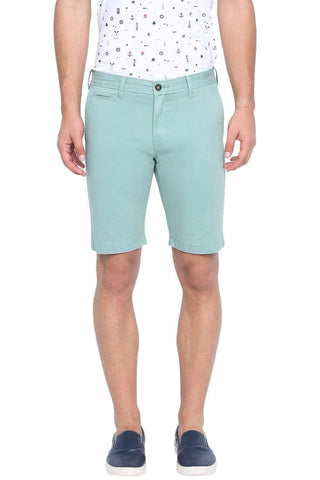 BASICS COMFORT FIT CANTON OVER DYED COTTON SHORTS-19BSS40231 (4491563008081)