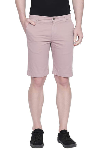 BASICS COMFORT FIT MESA ROSE TWILL STRETCH SHORTS-20BSS43354 (4491764990033)