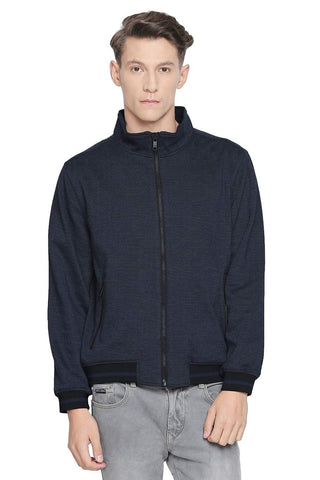 BASICS COMFORT FIT MOOD INDIGO CIRCULAR KNIT JACKET-19BJK42430 (4491736875089)