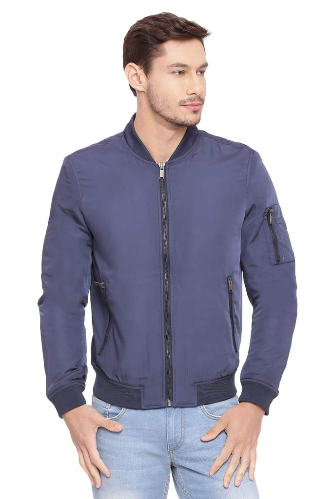 BASICS COMFORT FIT PEACOAT QUILTED POLY FILL JACKET-18BJK39639 (4491538038865)