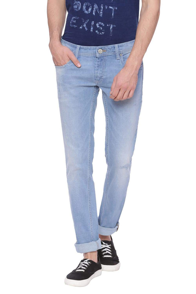 BASICS DRIFT FIT DUSTY BLUE STRETCH JEAN-18BJN37906 (4491040325713)