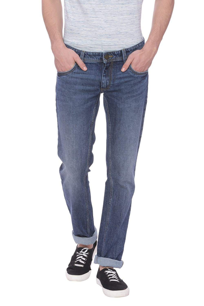 Basics Drift Fit Mood Indigo Jean Front