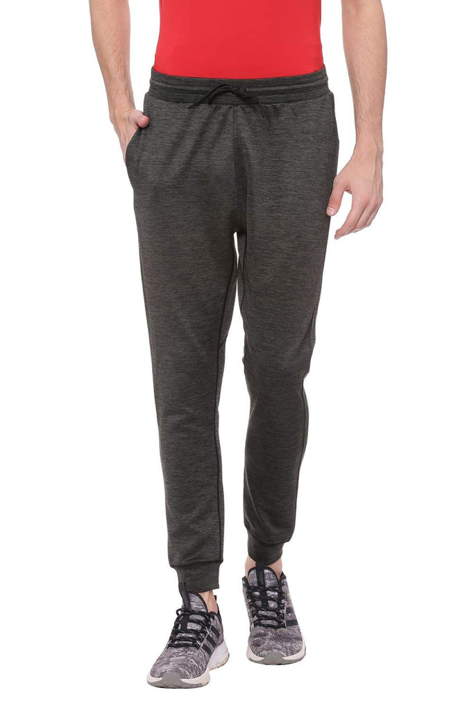 BASICS JOGGER FIT BEETLE GREEN KNITTED TRACK PANT-18BTP39585 (4491263443025)