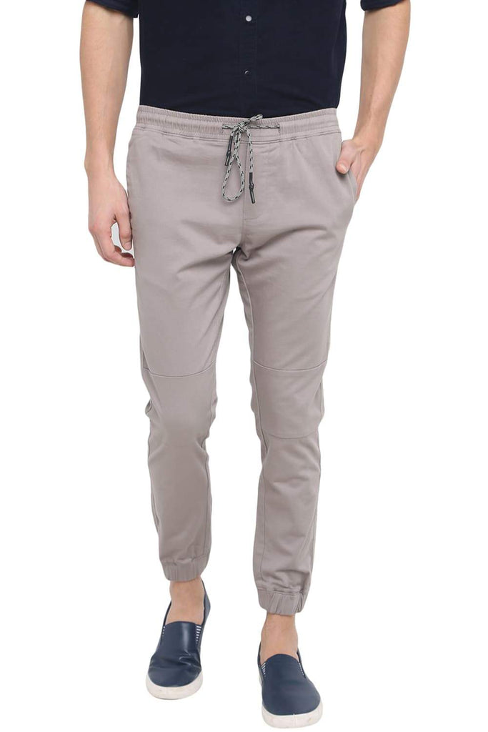 BASICS JOGGER FIT ELEPHANT SKIN STRETCH TROUSER-18BTR39188 (4491556585553)
