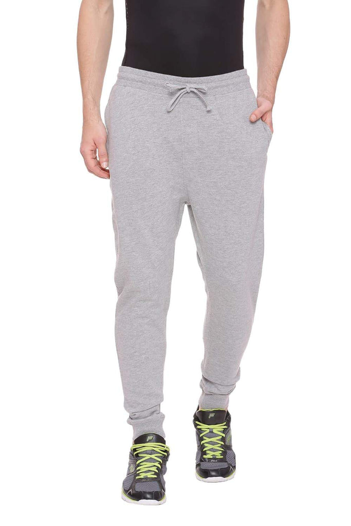 Basics Jogger Fit Moonshine Knitted Track Pant Front
