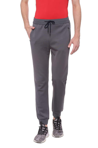 BASICS JOGGER FIT URBAN GREY KNITTED TRACK PANT-18BTP39591 (4491270750289)