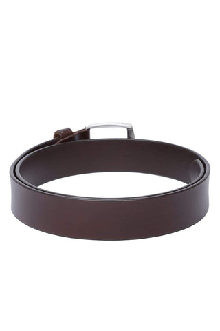 BASICS MANS ACCESSORIES FRENCH ROAST BELT-17BBL38231 (4491114545233)