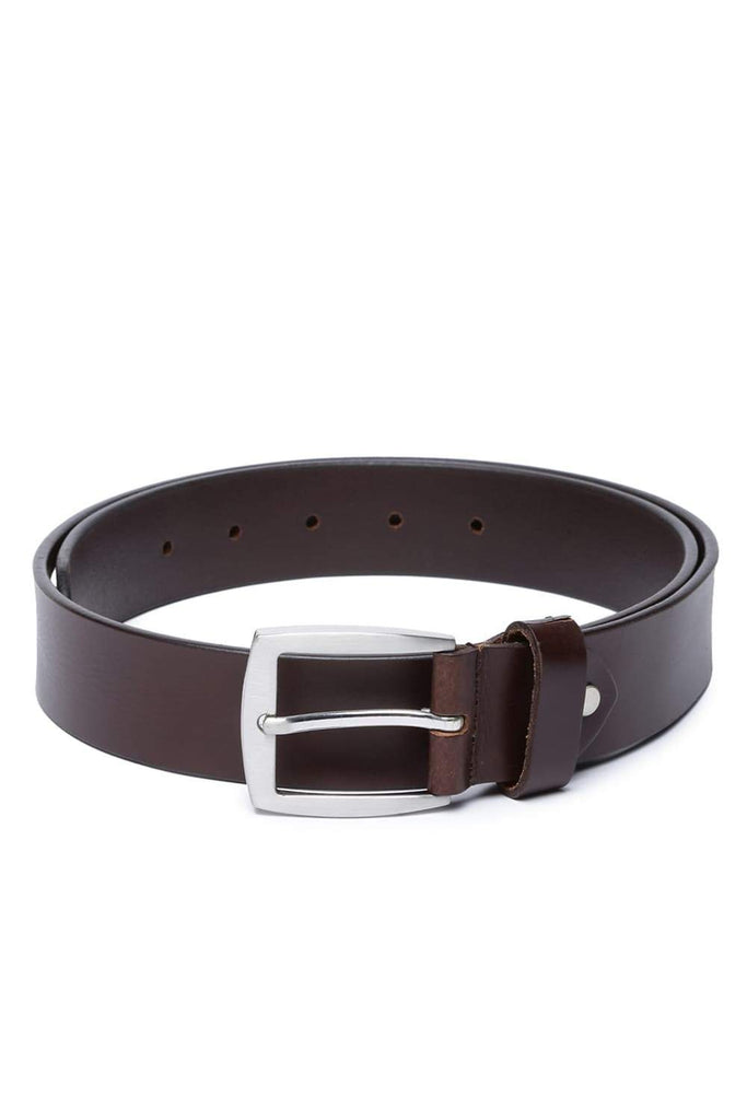 Basics Mans Accessories French Roast Belt Front