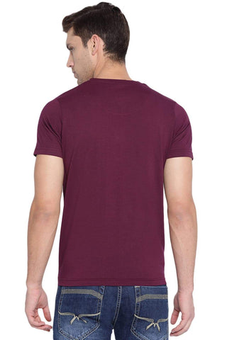 BASICS MUSCLE FIT FIG CREW NECK T SHIRT-19BTS40848 (4491582505041)