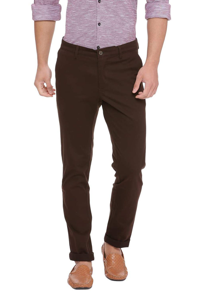 BASICS SKINNY FIT AFTER DARK STRETCH TROUSER-18BTR39963 (4491395268689)
