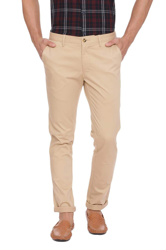 BASICS SKINNY FIT MOJAVE DESSERT STRETCH TROUSER-18BTR39892 (4491367317585)