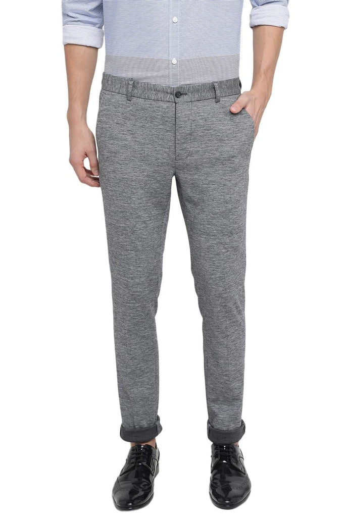 BASICS TAPERED FIT GRIFFIN KNIT TROUSER-18BTR39564