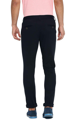 BASICS TAPERED FIT STRETCH LIMO STRETCH TROUSER-19BTR40072 (4491574050897)