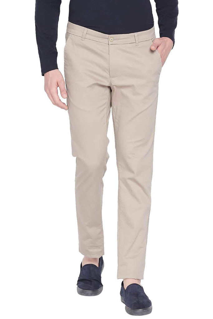 BASICS TAPERED FIT TIDAL FOAM STRETCH TROUSER-20BTR43570 (4491876302929)