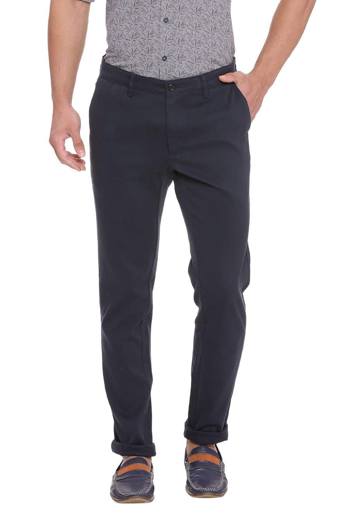 BASICS TAPERED FIT TOTAL ECLIPSE STRETCH TROUSER-18BTR38959 (4491282055249)