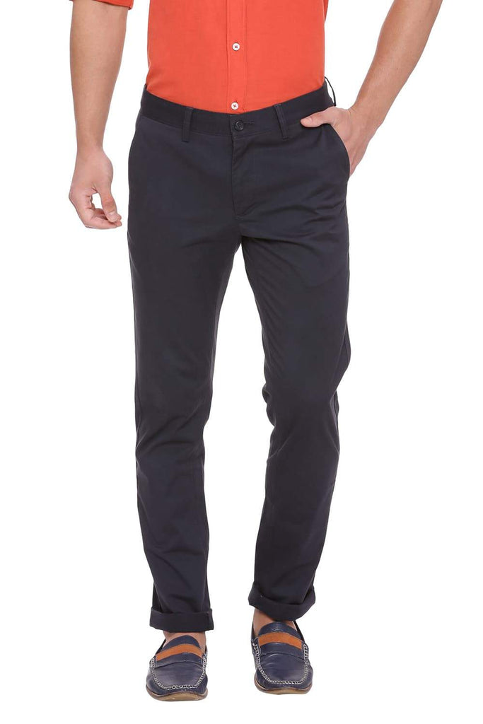 BASICS TAPERED FIT TOTAL ECLIPSE STRETCH TROUSER-18BTR38970 - BasicsLife