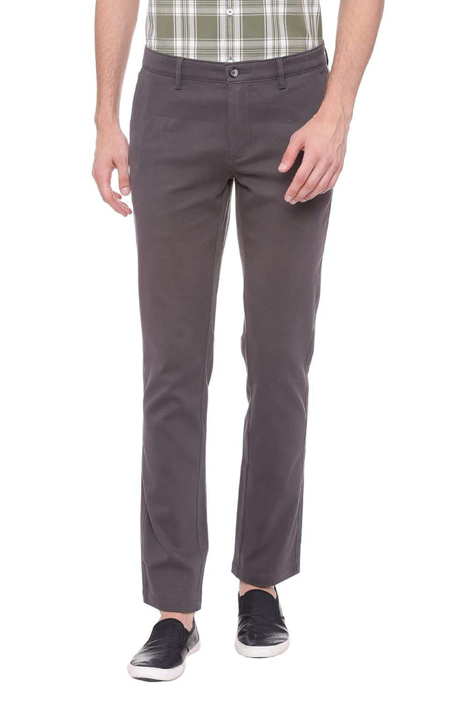 BASICS TAPERED FIT URBAN CHIC STRETCH TROUSER-18BTR38958 - BasicsLife
