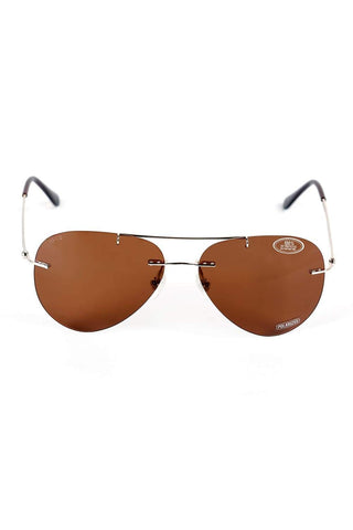 BASICS TOFFEE BROWN CAPTAIN SUNGLASSES-15BSG33008 (4490965286993)