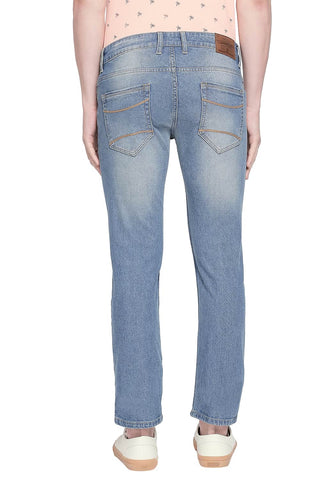 BASICS TORQUE FIT BLUE HEAVEN STRETCH JEANS-20BJN43890 - BasicsLife