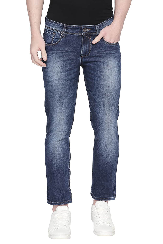BASICS TORQUE FIT ENSIGN BLUE STRETCH JEANS-20BJN43880 (4527350120529)