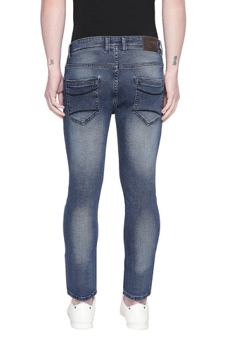 BASICS TORQUE FIT ENSIGN BLUE STRETCH JEANS-20BJN43918 - BasicsLife